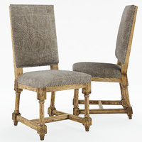 jute dining chair taupe model
