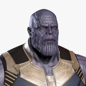 3D thanos avengers infinity model