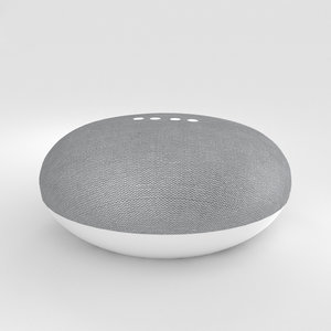 3D google mini home model