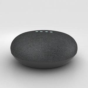 google mini home 3D model