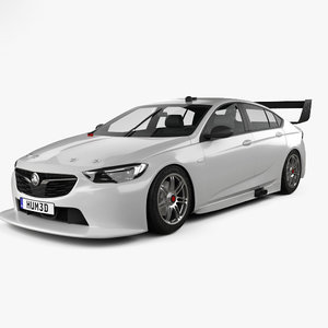 holden commodore zb 3D model