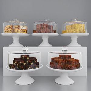 cake dessert 3D