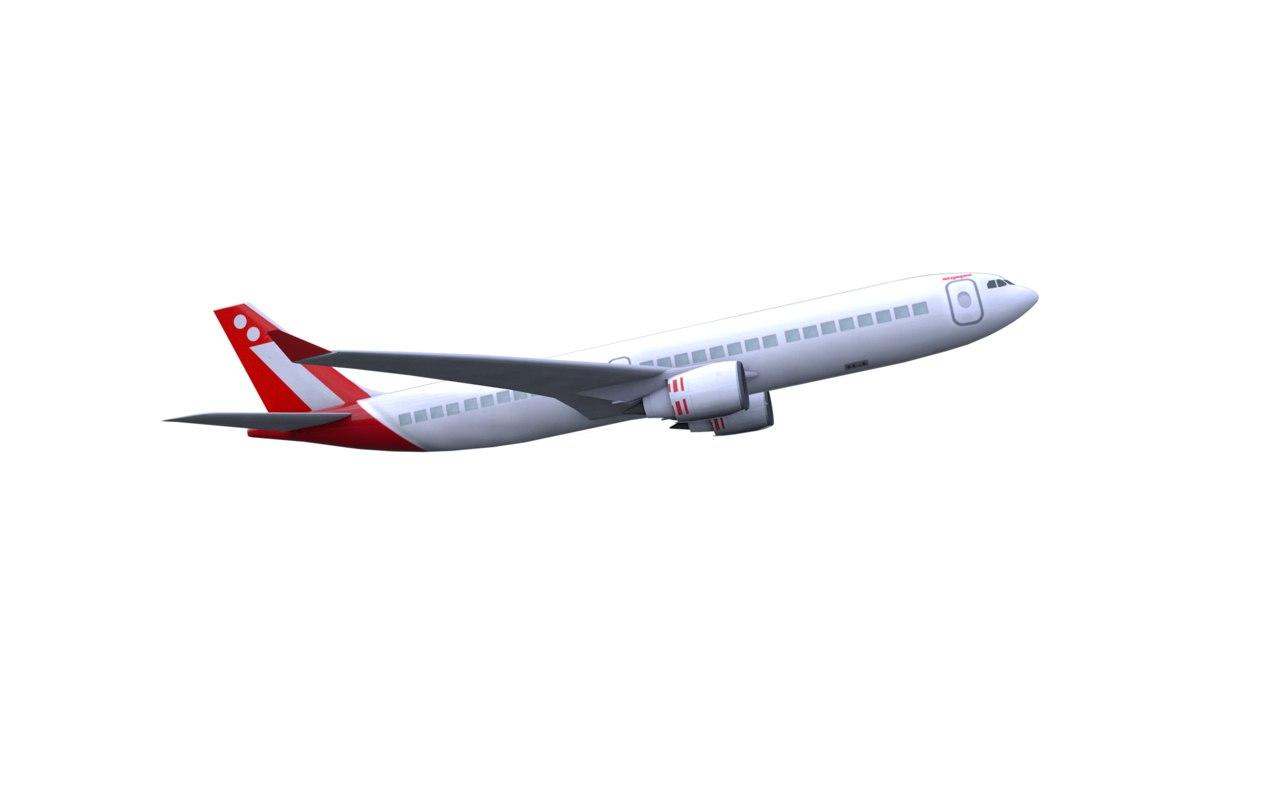 3D plane vehicles