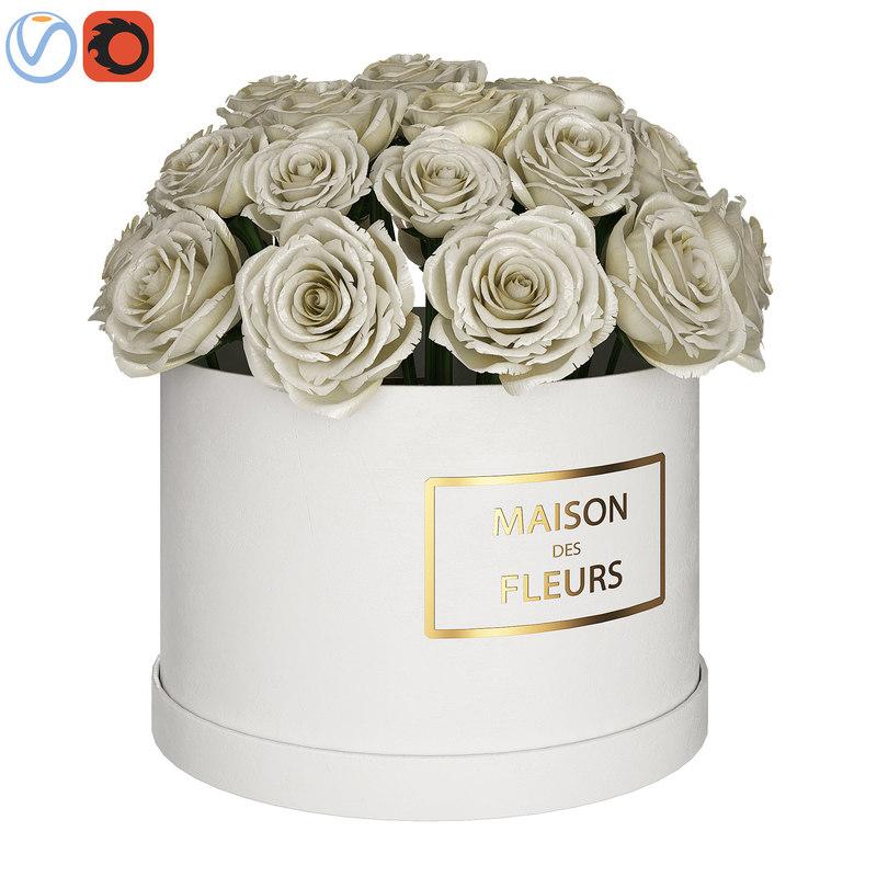 roses box 3D model