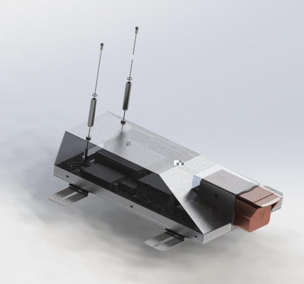 outdoor camera mechanism 3D model