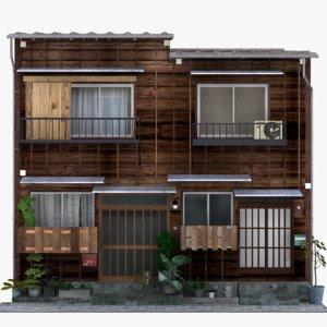 old tokyo building model