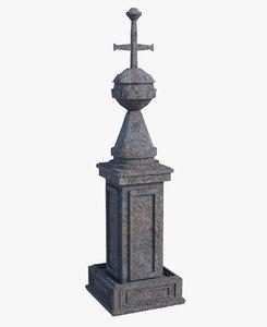 3D model pilar crew
