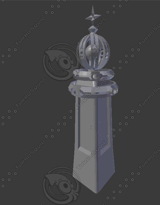 3D magic tower model