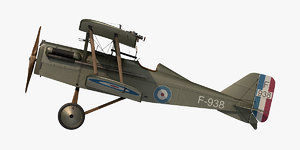 3D royal aircraft se5a