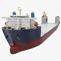 3D heavy load ship