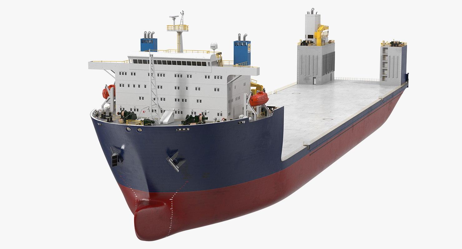 3D heavy load ship