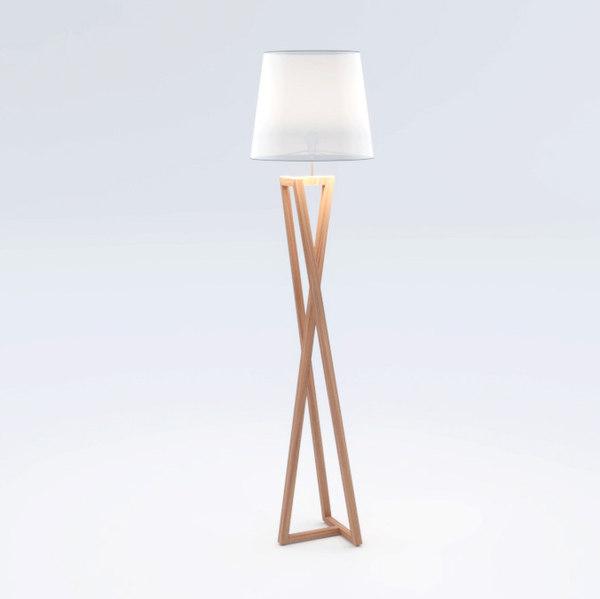 adina floor lamp 3D model