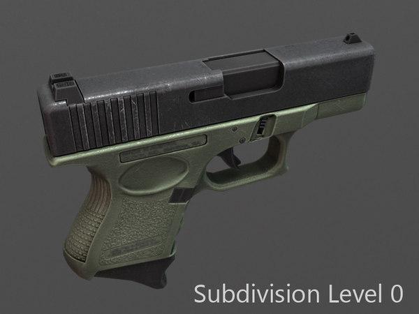 glock 26 3D
