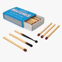 3D safety matches set