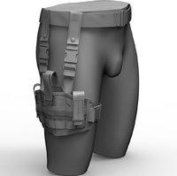 Phantom Gear Navy Seal Thigh Holster