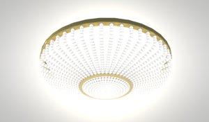 3D chandelier light ceiling
