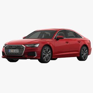3D audi a6 s-line sedan model