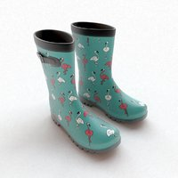 Flamingo Wellies with buckles