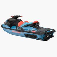 sea doo wake pro 3D model
