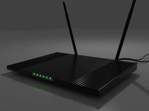 3D router modern