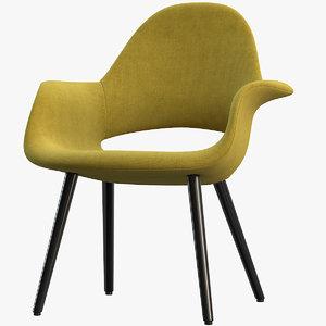 3D organic chair
