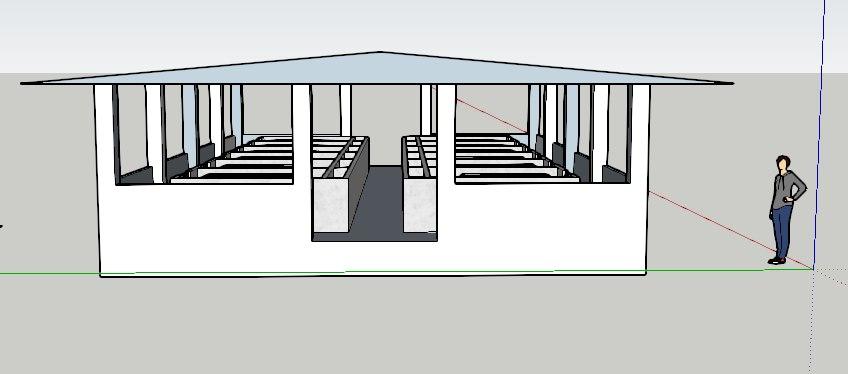 housing sows 3D model