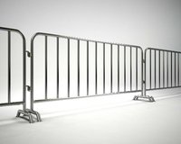 metal barrier 3D