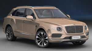 bentley bentayga 2019 interior model