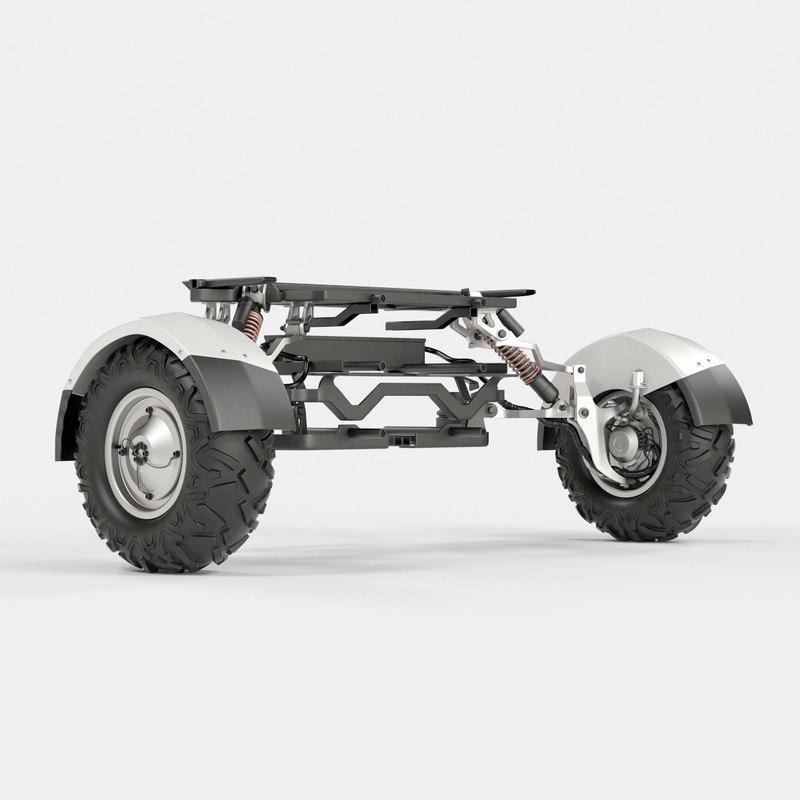 detail car 3D model