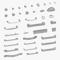 furniture handles 3D model