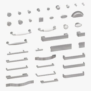 furniture handles 3D model