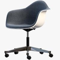 eames plastic armchair 3D model
