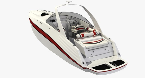 speed boat model