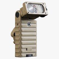 streamlight sidewinder c4 tan 3D model