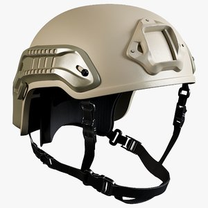 3D nexus sf m3 helmet model