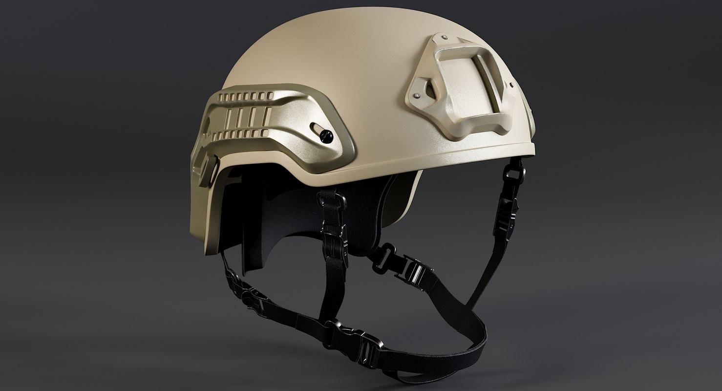 3D nexus sf m3 helmet model