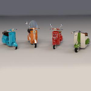 3D blender virtual model