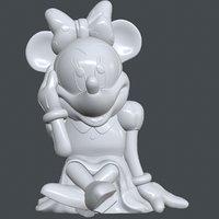 3D minnie disney model