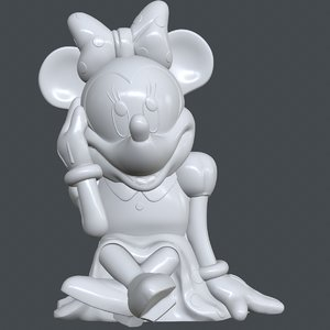 3D minnie disney model