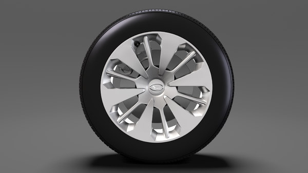 3D daihatsu thor wheel 2017 model