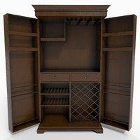 interior furniture closet 3D model