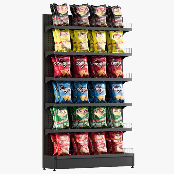 3D chips shelving