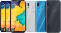 Samsung Galaxy A30 All Colors