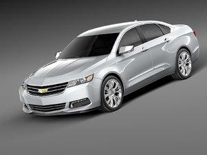 chevrolet impala 2013 3ds