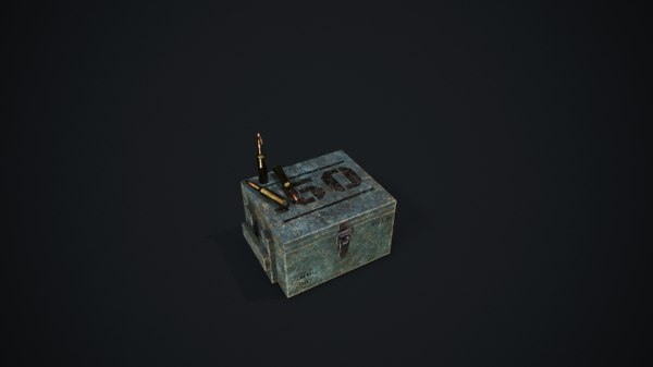 ammo boxes 3D