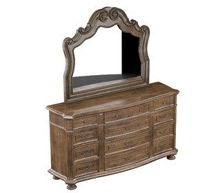 classical dresser mirror model