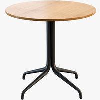 3D belleville table bistro