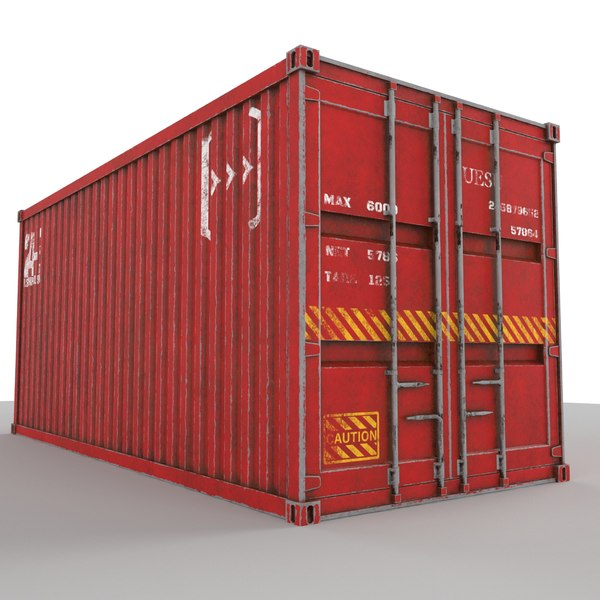 3D container 20 ft