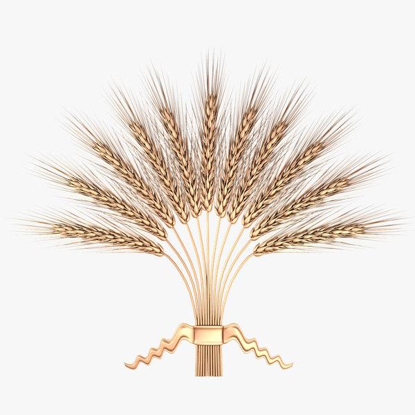 3d wheat composition