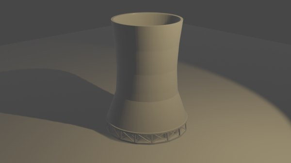 cooling tower model